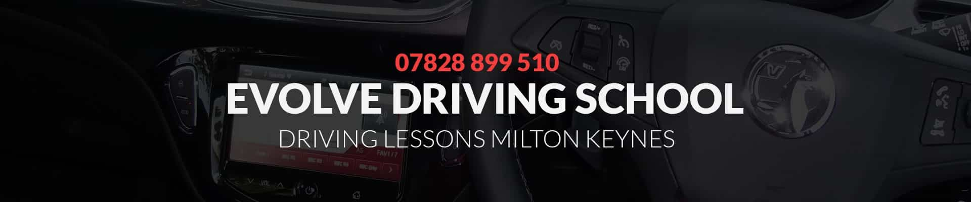learn to drive milton keynes banner