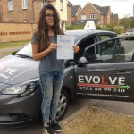 Frankie Hindley test pass