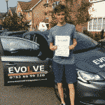tom burley driving test pass