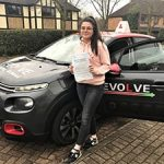sophie tuson test pass 2018